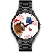 Cavalier King Charles Spaniel Alabama Christmas Special Wrist Watch-Free Shipping
