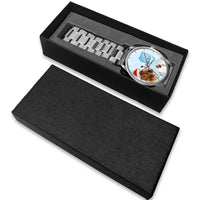 Cavalier King Charles Spaniel Arizona Christmas Special Wrist Watch-Free Shipping