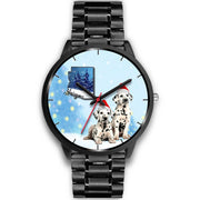 Cute Dalmatian Dog Arizona Christmas Special Wrist Watch-Free Shipping