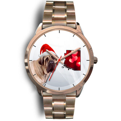 English Mastiff Dog Arizona Christmas Special Wrist Watch-Free Shipping
