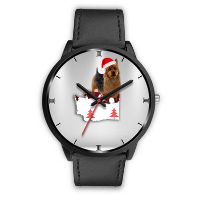 Australian Terrier Washington Christmas Special Wrist Watch-Free Shipping