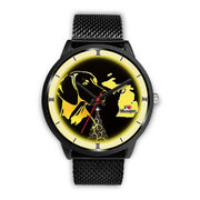Vizsla Dog Golden Art Michigan Christmas Special Wrist Watch-Free Shipping