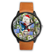 Poodle Dog Georgia Christmas Special Wrist Watch-Free Shipping