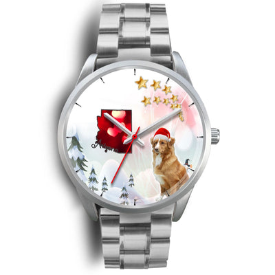 Nova Scotia Duck Tolling Retriever Arizona Christmas Special Wrist Watch-Free Shipping