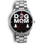 """Dog Mom Heart"" Print Christmas Special Wrist Watch-Free Shipping"