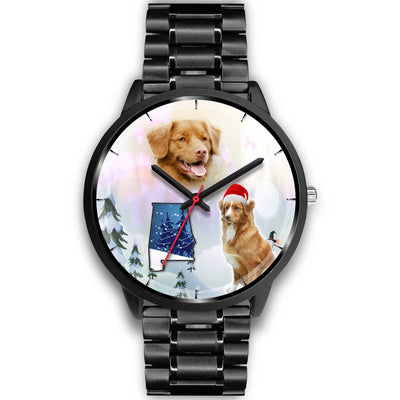 Nova Scotia Duck Tolling Retriever Alabama Christmas Special Wrist Watch-Free Shipping
