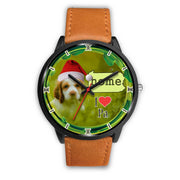 Cute Cocker Spaniel Dog Pennsylvania Christmas Special Wrist Watch-Free Shipping
