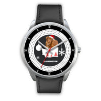 Nova Scotia Duck Tolling Retriever Washington Christmas Special Wrist Watch-Free Shipping