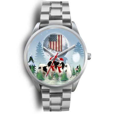 Japanese Chin Arizona Christmas Special Wrist Watch-Free Shipping