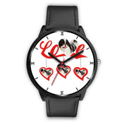 Japanese Chin Love Print Christmas Special Wrist Watch-Free Shipping