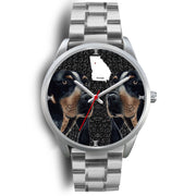 Bluetick Coonhound Dog Georgia Christmas Special Wrist Watch-Free Shipping