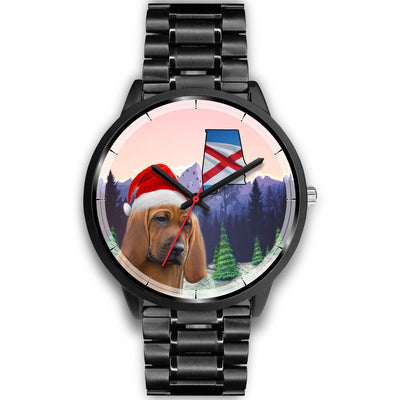 Redbone Coonhound Alabama Christmas Special Wrist Watch-Free Shipping