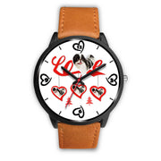 """Love"" Print Christmas Special Wrist Watch-Free Shipping"