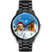 Shetland Sheepdog Arizona Christmas Special Wrist Watch-Free Shipping