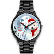 West Highland White Terrier Arizona Christmas Special Wrist Watch-Free Shipping