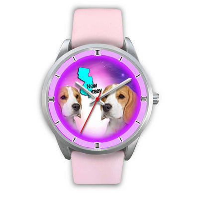 Cute Beagle Dog New Jersey Christmas Special Wrist Watch-Free Shipping