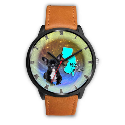 Lovely French Bulldog New Jersey Christmas Special Wrist Watch-Free Shipping