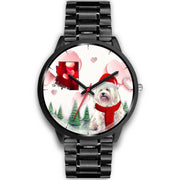 Havanese Dog Arizona Christmas Special Wrist Watch-Free Shipping