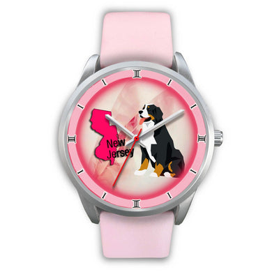 Bernese Mountain Dog New Jersey Christmas Special Wrist Watch-Free Shipping