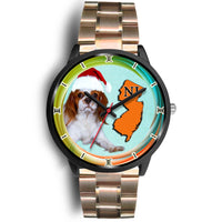 Cavalier King Charles Spaniel Dog New Jersey Christmas Special Wrist Watch-Free Shipping
