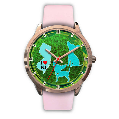 Lovely Chihuahua Dog Art New Jersey Christmas Special Wrist Watch-Free Shipping