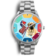 Amazing English Mastiff Dog New Jersey Christmas Special Wrist Watch-Free Shipping