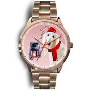 Afghan Hound Alabama Christmas Special Wrist Watch-Free Shipping