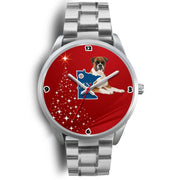 Boxer Dog Minnesota Christmas Special Wrist Watch-Free Shipping