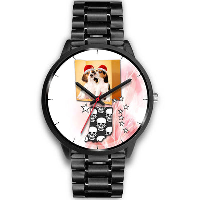 Cute Beagle Indiana Christmas Special Wrist Watch-Free Shipping
