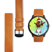 Cavalier King Charles Spaniel Colorado Christmas Special Wrist Watch-Free Shipping