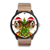 Cavalier King Charles Spaniel Christmas Special Wrist Watch-Free Shipping