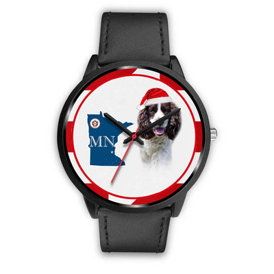 Amazing English Springer Spaniel Minnesota Christmas Special Wrist Watch-Free Shipping