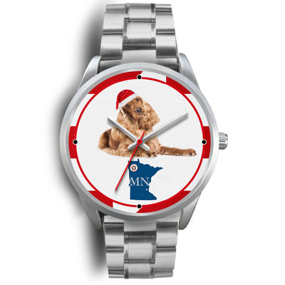 Cocker Spaniel Minnesota Christmas Special Wrist Watch-Free Shipping