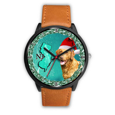 Chesapeake Bay Retriever Dog New Jersey Christmas Special Wrist Watch-Free Shipping