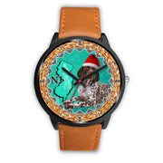 German Shorthaired Pointer Dog New Jersey Christmas Special Wrist Watch-Free Shipping