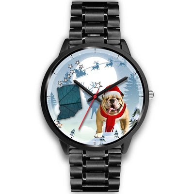 Bulldog Indiana Christmas Special Wrist Watch-Free Shipping
