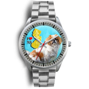 Japanese Chin Dog New Jersey Christmas Special Wrist Watch-Free Shipping