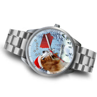 Cavalier King Charles Spaniel Iowa Christmas Special Wrist Watch-Free Shipping