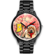 Tibetan Mastiff Indiana Christmas Special Wrist Watch-Free Shipping