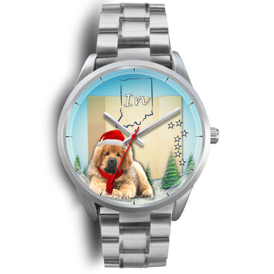 Cute Tibetan Mastiff Indaina Christmas Special Wrist Watch-Free Shipping