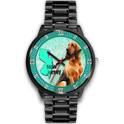 Bloodhound Dog New Jersey Christmas Special Wrist Watch-Free Shipping