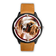 Cavalier King Charles Spaniel Dog Print Wrist watch - Free Shipping
