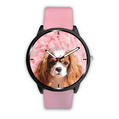 Cavalier King Charles Spaniel Print Wrist Watch - Free Shipping