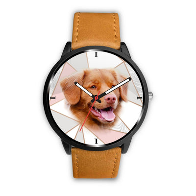 Cute Nova Scotia Duck Tolling Retriever Print Wrist Watch - Free Shipping