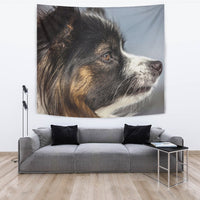 Lovely Papillon Dog Print Tapestry-Free Shipping