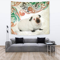 Cute Himalayan guinea pig Print Tapestry-Free Shipping