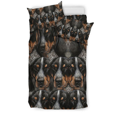 Bluetick Coonhound Dog Lots Print Bedding Sets-Free Shipping