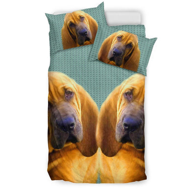 Lovely Bloodhound Dog Print Bedding Set-Free Shipping
