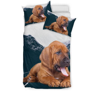 Cute Bloodhound Puppy Print Bedding Sets-Free Shipping