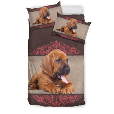Cute Bloodhound Dog Print Bedding Sets-Free Shipping